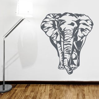Big Elephant Wall Decal Vinyl Art Home Decor