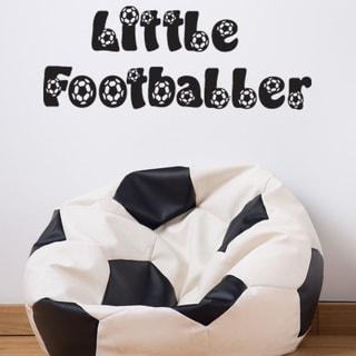 Little Footballer Wall Decal Vinyl Art Home Decor