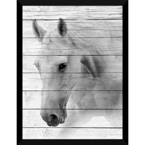 Lone Ranger' Giclee Wood Wall Decor