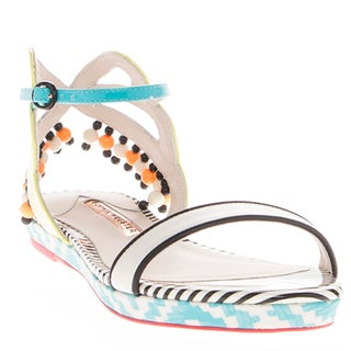 Sophia Webster Luca Aztec Flat Sandals