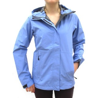 Narragansett Traders Women's Light Blue Lightweight Waterproof Hooded Jackets