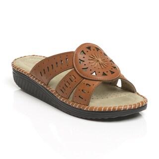 Unsensored Women's Sundial Sandal