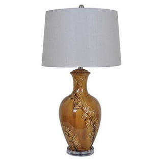 Crestview Collection 32-inch Camel Table Lamp