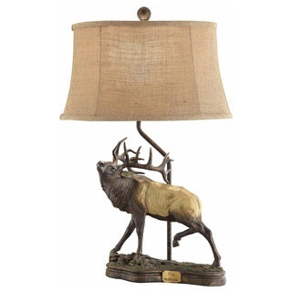 Crestview Collection 28.25-inch Chestnut Bronze Table Lamp