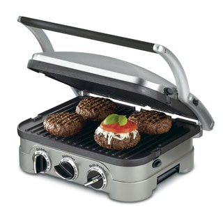 Cuisinart Stainless Steel 5-in-1 Grill/Griddle & Panini Press