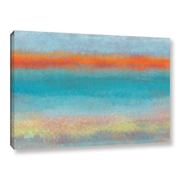 Jan Weiss's 'Outer Limits 2' Gallery Wrapped Canvas