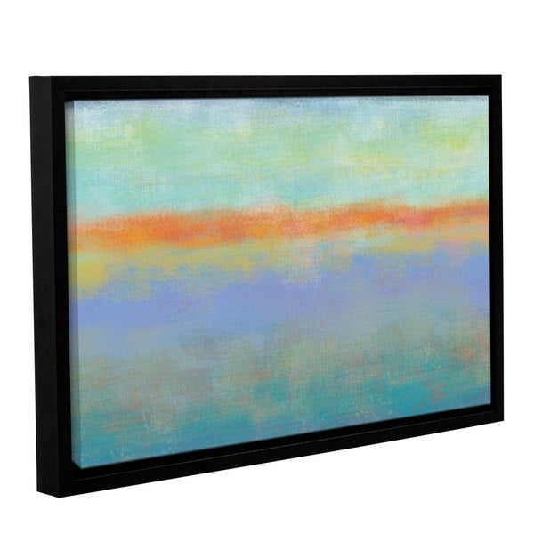 Jan Weiss's 'Outer Limits 1' Gallery Wrapped Floater-framed Canvas