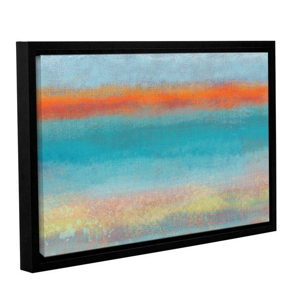 Jan Weiss's 'Outer Limits 2' Gallery Wrapped Floater-framed Canvas