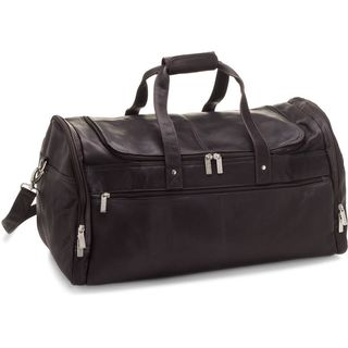 LeDonne Leather 22-inch Voyager Carry On Duffel Bag