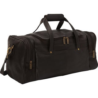 LeDonne Leather Hayden 19-inch Carry On Duffel Bag