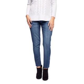 Poetic Justice Nikki Basic Blue Skinny Hipster Jeans