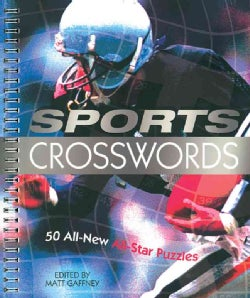Sports Crosswords: 50 All-New All-Star Puzzles (Paperback)