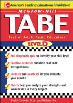Mcgraw-hill's Tabe Level D: Test of Adult Basic Education (Paperback)