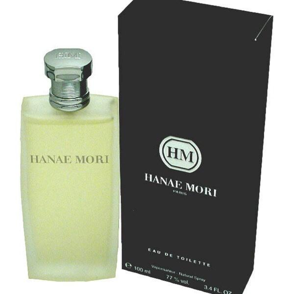 Hanae Mori Eau de Toilette Spray 3.4-ounce for Men
