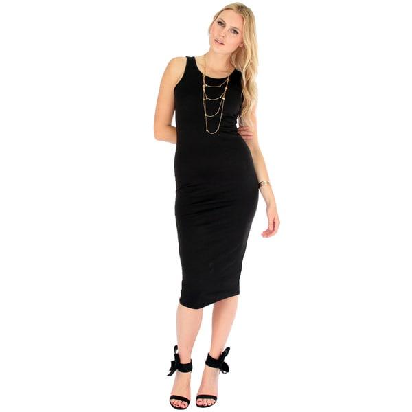 Women's Bodycon Midi Dress