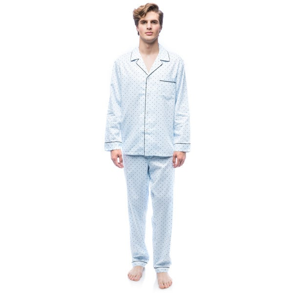 Men's Twilight Blue L/S Pajama Set
