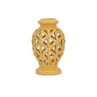 Clarey Small Cutout Vase