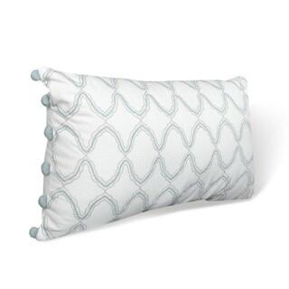 Nostalgia Home Hayden Breakfast White Decorative Throw Pillow
