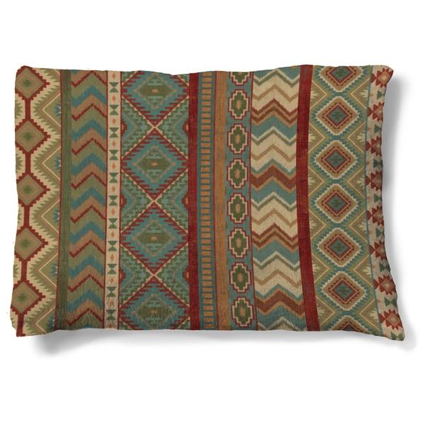 Laural Home Sage Fleece Dog Bed