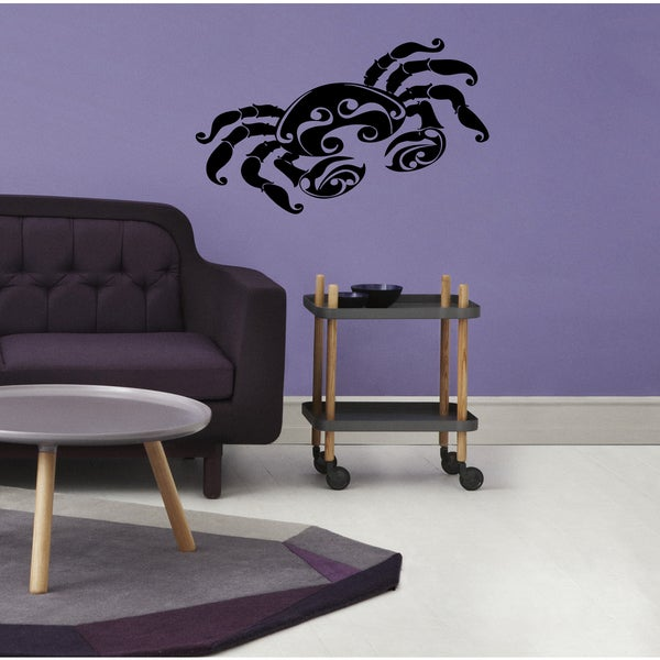 Constellation Cancer zodiac sign astrology Wall Art Sticker Decal
