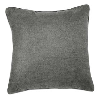 Grey Jacquard 18 Inch Decorative Throw Pillow