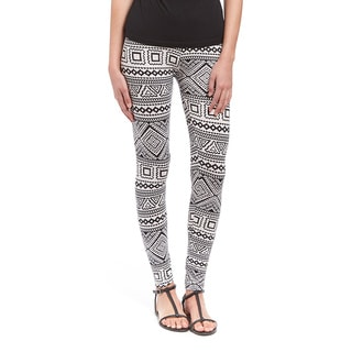 Black and White Aztec Legging
