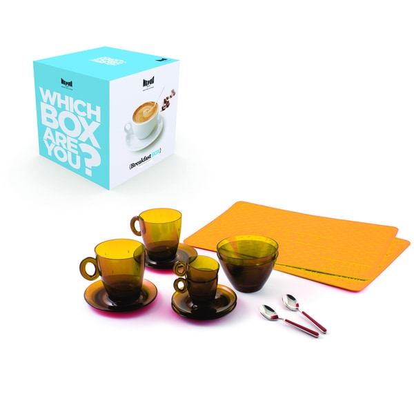 10 Piece Breakfast Box Set in Amber