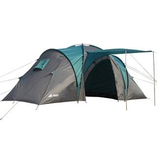 Semoo 100% Waterproof,4-Person,2 Doors,2 room,1 Vestibule, 3 Season Family Tent For Camping with Com