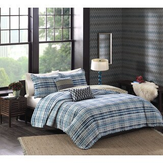 Josie by Natori Breeze Reversible Quilt Set