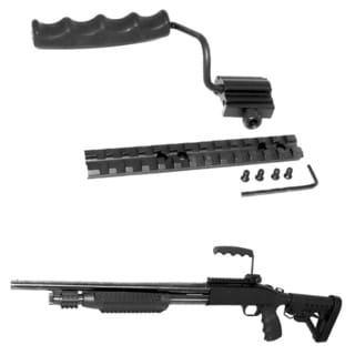 FOLDING CARRYING HANDLE WITH RAIL MOUNT FOR MOSSBERG 500