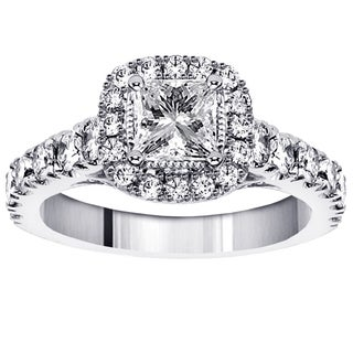 Platinum 2ct TDW Diamond Engagement Ring (G-H, SI1-SI2)