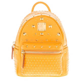 MCM 'X-Mini' Orange Stark Special Bebe Boo Backpack