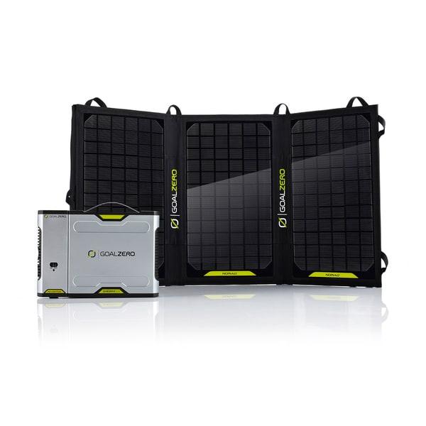 Goal Zero Sherpa 100 Solar Recharging Kit