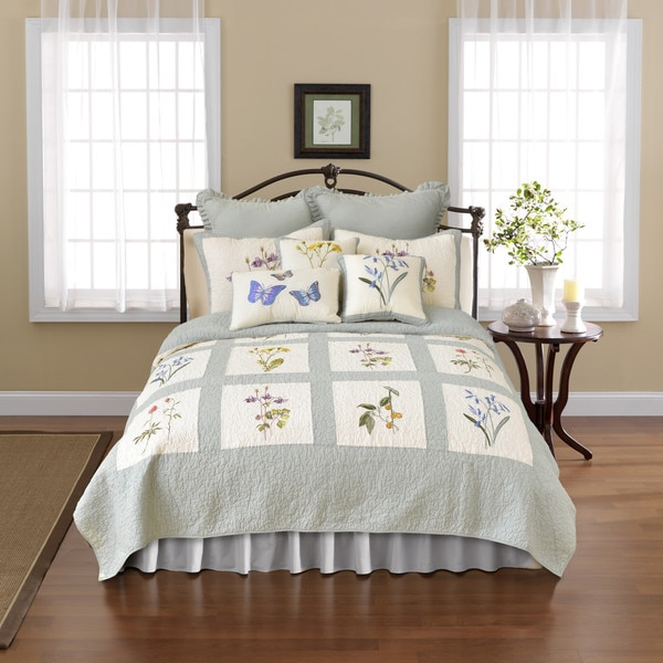 Nostalgia Home Josephine Cotton Quilt King Size (As Is Item)