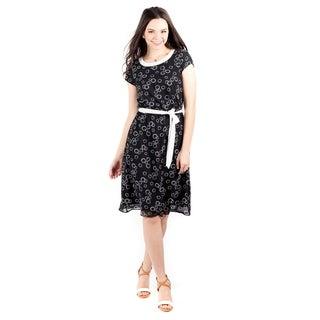 DownEast Basics Women's Ring Toss Dress