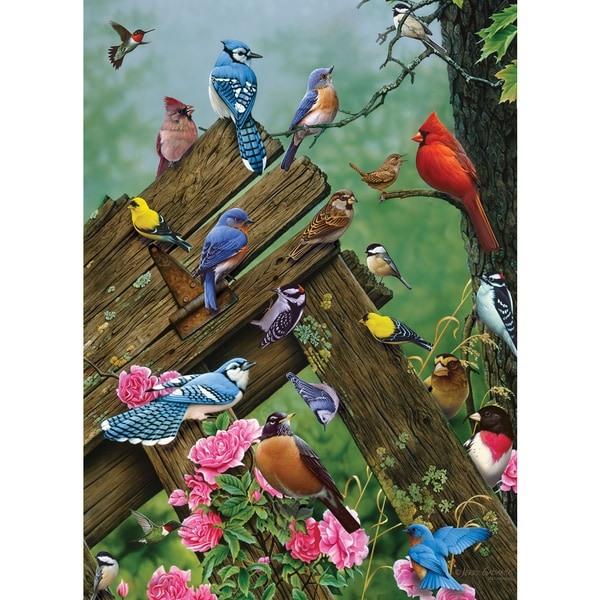 Cobble Hill: Birds of the Forest 1000 Piece Jigsaw Puzzle