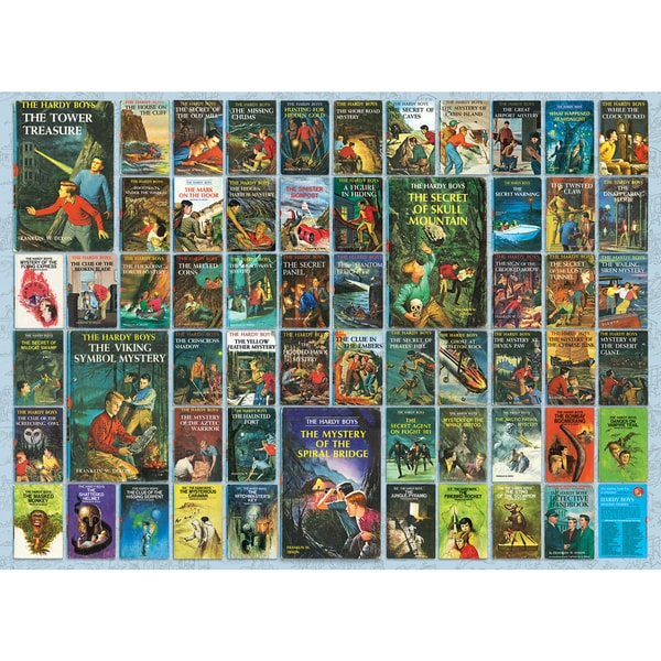 Cobble Hill: Hardy Boys 1000 Piece Jigsaw Puzzle