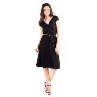 DownEast Basics Women's French Braid Dress