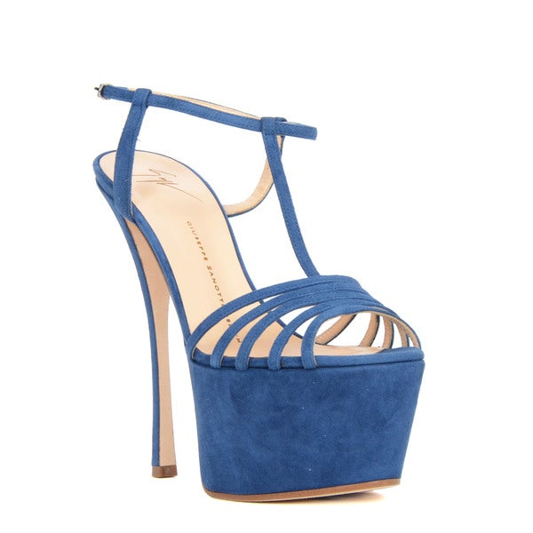 Giuseppe Zanotti Blue Heel Sandal