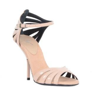 Giuseppe Zanotti Strappy Pink Open Toe Heel Sandal