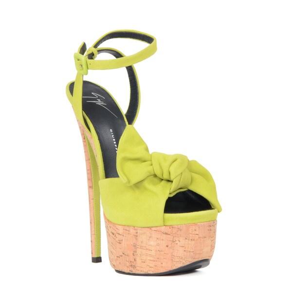 Giuseppe Zanotti Green Heel Sandal