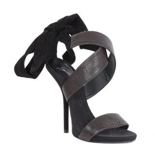 Giuseppe Zanotti Brown Heel Sandal