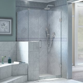 DreamLine Unidoor Plus 35 in. Wide x 40.375 in. Deep x 72 in. High Hinged Shower Enclosure