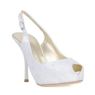 Giuseppe Zanotti White Heel Sandal