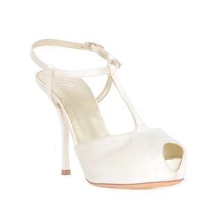 Giuseppe Zanotti Off-White Heel Sandal