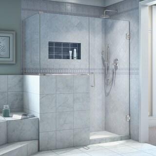 DreamLine Unidoor Plus 45 in. Wide x 30.375 in. Deep x 72 in. High Hinged Shower Enclosure