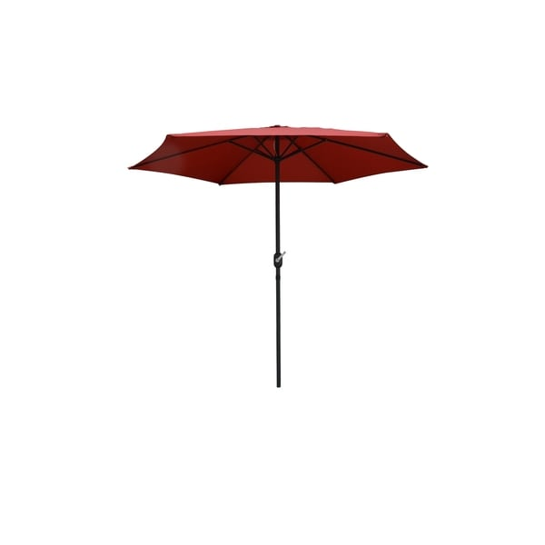 Brescia Patio Umbrella-Red