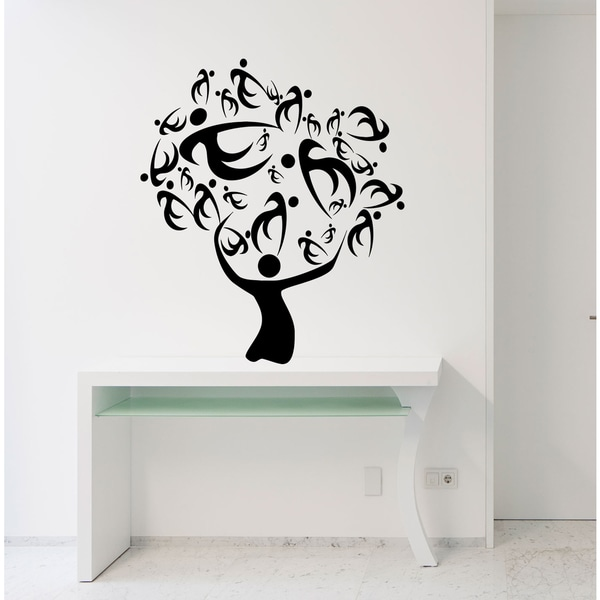 Family house happy Wall Art Sticker Decal