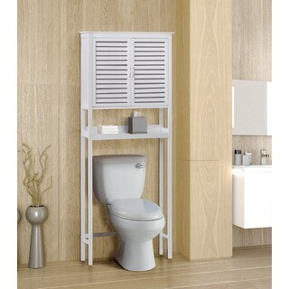 Gallerie Decor Natural Bamboo Over Toilet Space Saver