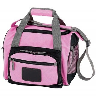 Extreme Pak Pink Cooler Bag with Zip-Out Liner